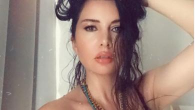 Photo of لاميتا فرنجية تنشر صورها وهي تستحم
