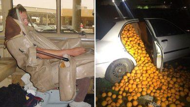 Photo of 23 من أغرب حالات التخفي ونقل البضائع بطرق غير شرعية حول العالم.. مع الصور