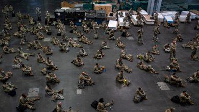 Photo of فيروس كورونا يقضي على جبروت أمريكا العسكري
