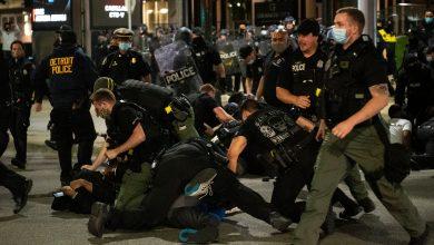 Photo of قتيل في ديترويت بإطلاق نار على متظاهرين يحتجون على حادثة مينيابوليس