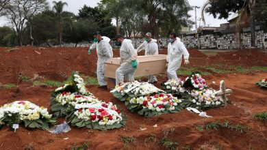 Photo of البرازيل تسجل 46860 إصابة و990 وفاة جديدة بفيروس كورونا