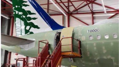 Photo of شركة طيران الشرق الأوسط تستلم طائرتها الثانية من طراز ارباص ٣٢١ الجديدة