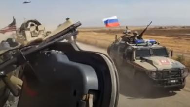 صورة شاهد بالفيديو.. احتكاك بين وحدات روسية وأمريكية بسوريا في ظل أنباء عن إصابة جنود أمريكيين