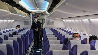 """صورة دراسة """"مطَمْئنة""""… خطر انتقال عدوى كورونا خلال السفر بالطائرة أقل مما كان متوقعاً"""