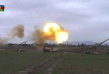 صورة معارك ناغورني كاراباخ.. حشود عسكرية وقصف جوي ومقتل مدنيين