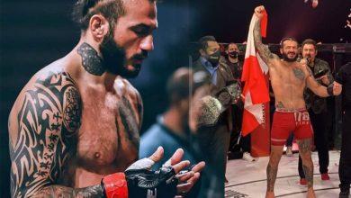 صورة بالفيديو | تتويج اللبناني محمد فخر الدين (ابو علي) بطلاً على العالم في لعبة القتال الحر Brave MMA