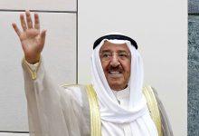 صورة دياب يصدر مذكرة رسمية يعلن فيها الحداد العام لمدة ثلاثة أيام على رحيل أمير الكويت
