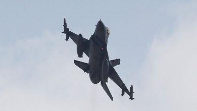 """صورة الدفاع الأرمنية: طائرة """"إف-16"""" تركية تسقط """"سو-25"""" أرمنية ومقتل طيارها"""