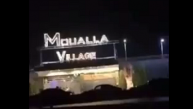 """صورة بالفيديو: حفلة لوديع الشيخ في أحد مطاعم ريف دمشق تتحول إلى """"ساحة اشتباكات مسلحة"""""""