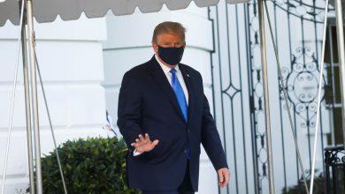 صورة أول ظهور لترامب بعد إصابته بفيروس كورونا