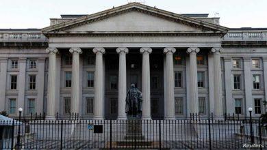 """صورة الخزانة الأميركية تفرض عقوبات على اثنين من قياديي """"الحزب"""""""