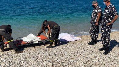صورة جثّة على شاطئ البترون