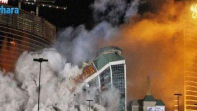 صورة بالفيديو… إنفجار ضخم هزّ مدينة أميركية