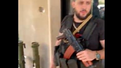 صورة بالفيديو بعد استعراض آل شمص العسكري أمس… آل جعفر بالسلاح اليوم!