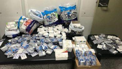 صورة بالفيديو: إحباطُ عملية تهريب كميّة كبيرة من الأدوية إلى مصر