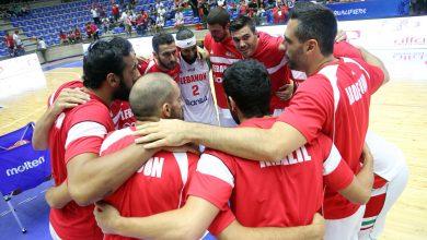 صورة منتخب لبنان يفوز على العراق بنتيجة 78-69 في إطار تصفيات بطولة آسيا 2021 لكرة السلة
