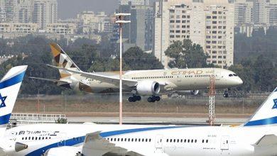 """صورة وقائعٌ مُحرجة بين الإمارات وإسرائيل في """"بن غوريون"""""""