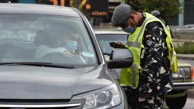 صورة كيف بدت الطرق في اليوم الأول من الإقفال التام في المناطق اللبنانية؟