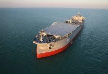 صورة إيران تعرض أكبر سفينة عسكرية في تاريخها (بالصور)