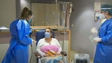 صورة بالفيديو، تيريز تركت محل لغيرها بالمستشفى.. إنما الاوكسيجين سلاحها خلال هالفترة وكيف طريقة تشغيله؟