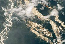 صورة أنهار من الذهب..كاميرا فضائية تكشف ما يحدث في الأمازون